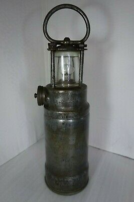 Miners or Nautical lamp by OLDHAM LANTERN Automatic Type Admiralty- torch, light