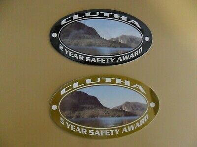 Clutha Coal Safety Award Mining Stickers