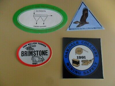 Clutha Coal Mining Stickers