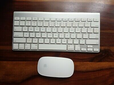 Genuine Apple Wireless Keyboard and Mouse. Very good condition.