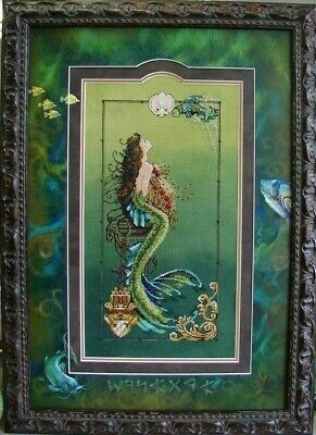 Mermaid of Atlantis Cross Stitch Chart