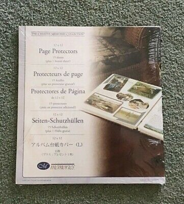 """Creative Memories 12"""" x 12"""" Old Style Page Protectors"""