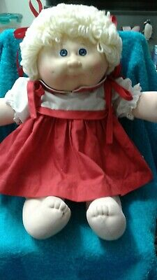 Vintage Cabbage Patch Kids Girl Doll with Paci Mouth