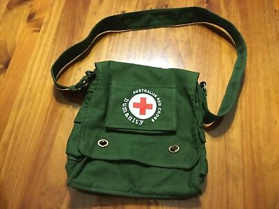 Collectable Australian Red Cross Bag.