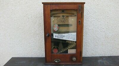 alter Spielautomat >> Bajazzo << ca.1920 mit doppelter Auszahlung >>TOP original