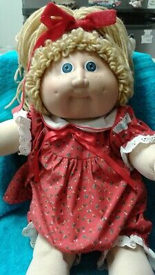 Vintage Cabbage Patch Kids Jesmar Girl Doll