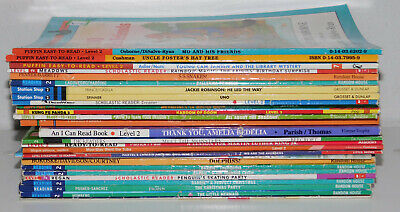 MIXED Lot of 10 Level 1-4 -Step into Reading - My First - I Can Read Books