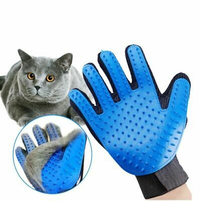 Pet Brush Glove Soft Silicone Dog Pet Grooming Glove For Combing Wool Gentle Cat