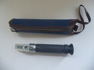 Vintage Pocket Refractometer 0 - 10 20 Degrees C.