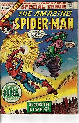 Amazing Spider-Man Annual 9 Green Goblin VG 1973 Double size