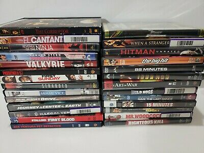 DVD Movies Lot Sale $1.50 each! Action Comedy Horror Drama Pick your Movie