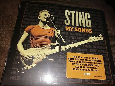 Sting my songs Cd new sealed