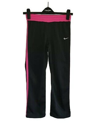 Girls NIKE Tracksuit Bottoms Age 10-12 Years