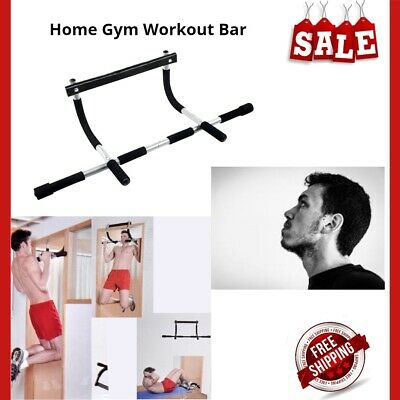 Workout Bar Chin Pull up Body Door Frame Home Gym Equipment for Total Upper Body