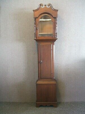 Antique / Attractive Oak Grandfather 30 Hour Long-Case Clock Case Only