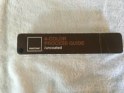 Pantone 4-Color Process Guide /uncoated