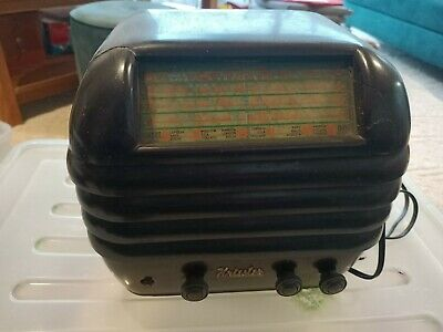 antique radio kreisler bee hive