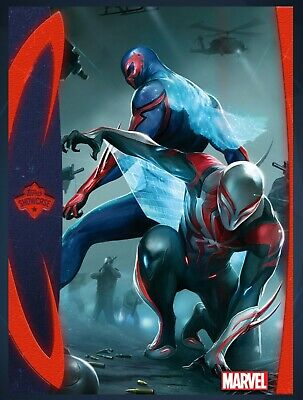 2020 SPIDER-MAN SUIT 2ND PRINTING FUTURE FOUNDATION Topps Marvel Collect Digital