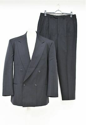 GIORGIO ARMANI Men's Navy Pinstripe Double Breasted 2-Piece Suit UK42 36W 30L