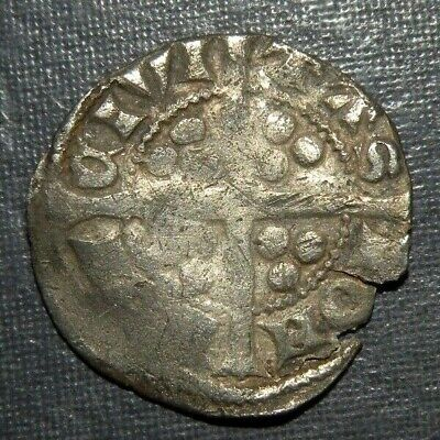 Medieval Coin Silver 1200's AD Crusader Templar Cross Lot Ancient Old England 2