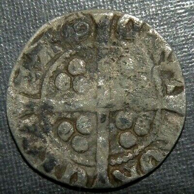 Medieval Coin Silver 1200's AD Crusader Templar Cross Lot Ancient Old England 5