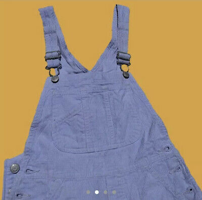Lilac Corduroy Flare Overalls Xsmall 6