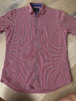 Mens Red Shirt Size M/L