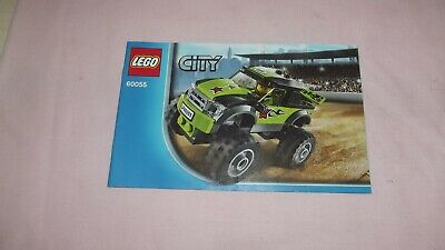 Lego City 60055 Monster Truck - Instruction Manual Only