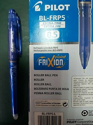 Penna Pilot Frixion point 0,5 extra fine cancellabile ricaricabile colore nero