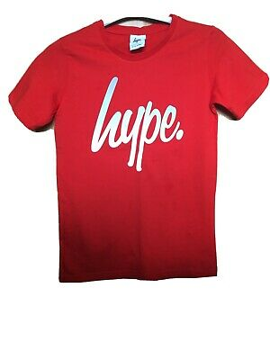 BNWOT Boys Hype Red T Shirt 11-12 Years