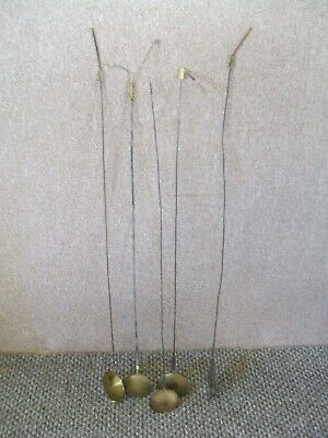 Antique Grandfather Clock Five Pendulums