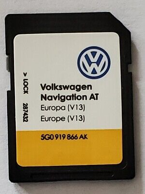 Carte SD Europe - Navigation AT - VW Discover Media 1 MIB1 - v13 - 5G0919866AH