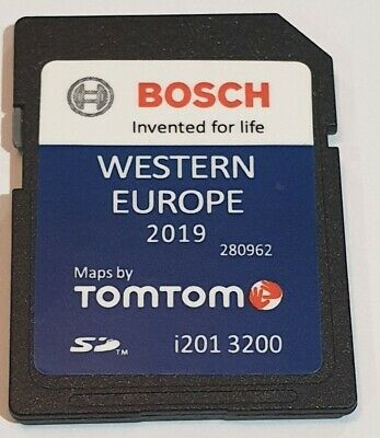 Carte SD VW GPS Europe Ouest 2019 V11 - RNS 310