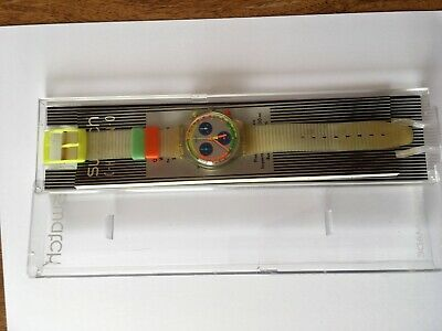 SWATCH Chrono JELLY STAG SCK104 Box, Papiere, Batterie NEU