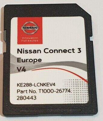 Carte SD GPS Europe 2019 v4 - Nissan Connect 3 LCN2 - (Q1.2018)