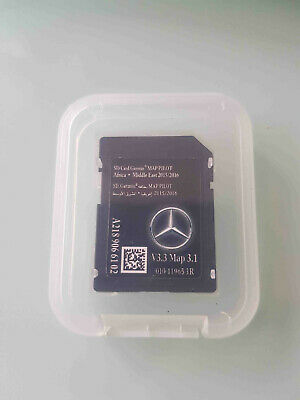 Carte SD GPS MERCEDES (Star1) GARMIN MAP PILOT Africa Middle East 2015-2016 v3.1