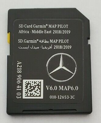 Carte SD GPS MERCEDES (Star1) GARMIN MAP PILOT Africa Middle East 2018-2019 v6