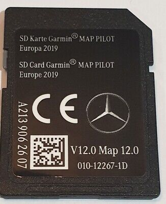 Carte SD GPS MERCEDES GARMIN MAP PILOT Europe 2019 - STAR2 - v12 - A2139062607