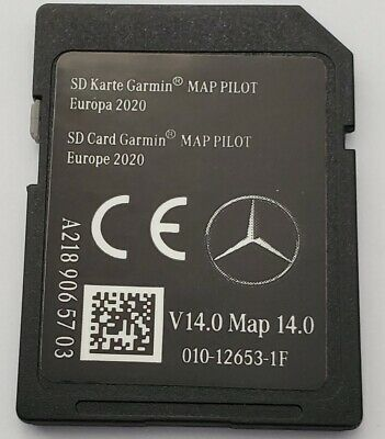 Carte SD GPS MERCEDES GARMIN MAP PILOT Europe 2020 - STAR1 - v14 - A2189065703