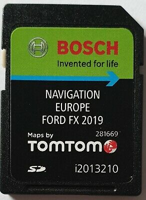 Carte SD GPS Ford FX Europe 2019