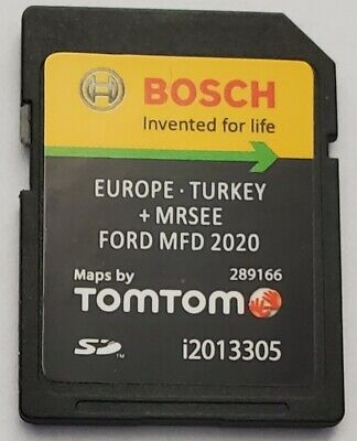 Carte SD GPS Ford MFD v10 Europe 2020