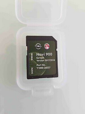 Carte SD GPS Opel NAVI600 NAVI900 Europe 2017 2018