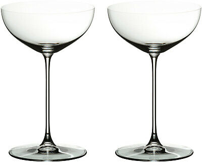 Clear Set of 2 Riedel 6449//09 Veritas Coupe Glasses