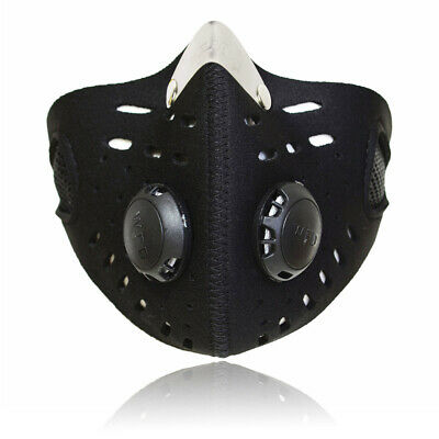 Cycling Half Face Shield with Filter Dustproof Motorcycle Mouth-muffle Covers