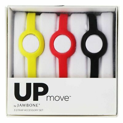 Jawbone Delgado Correas para Up Movimiento Actividad Trackers Látex sin (3-Count