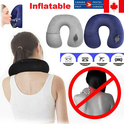 On Air Adjustable and Inflatable Neck Pillow, Airplane Pillow for Kids + Adults!