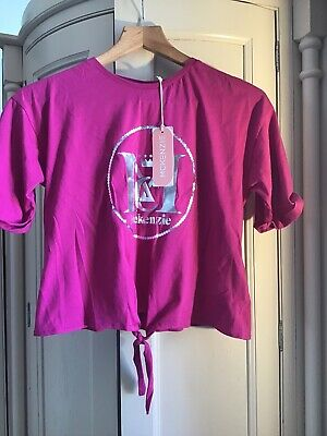 Girls Age 13-15 Years Pink McKenzie Sports T-Shirt Top Excellent New Condition