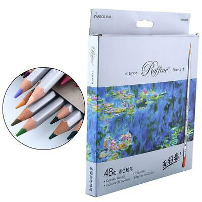 48 Colors Fine Art Marco Colored Drawing Pencils Set for Artist Sketch Painting