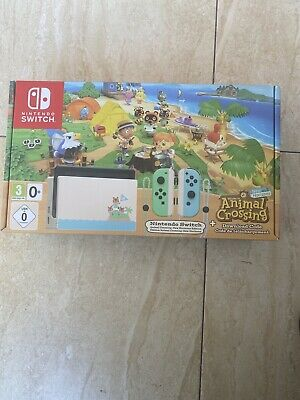 Nintendo Switch - Animal Crossing: New Horizons Edition (Limited Edition) - NEW
