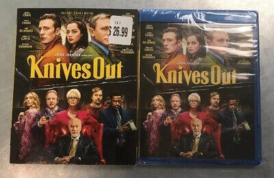 *SEALED* Knives Out - Blu-ray / DVD / Digital *BRAND NEW*